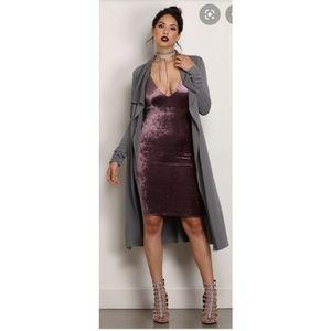 Windsor Crushed Velvet Dress